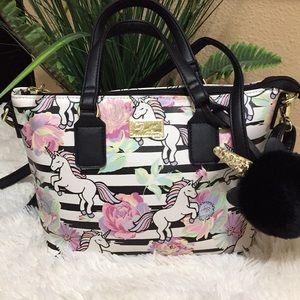 Betsey Johnson Satchel Handbag